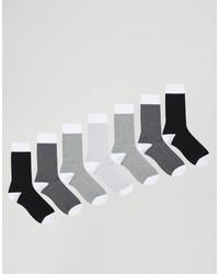 Calcetines grises de Asos