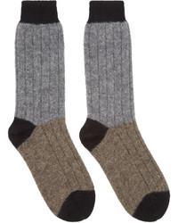 Calcetines grises de Haider Ackermann
