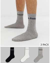 Calcetines grises de Reebok