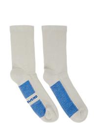 Calcetines grises de Rick Owens