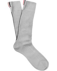 Calcetines grises de Thom Browne