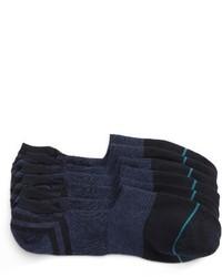 Calcetines invisibles azul marino