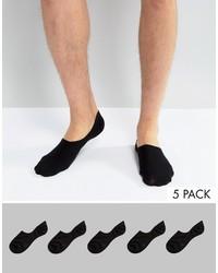 Calcetines Invisibles Negros de Asos