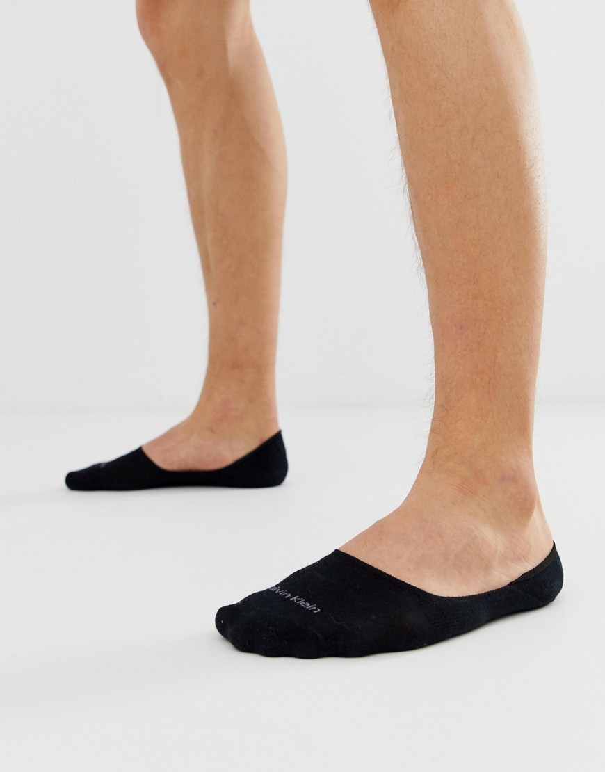 Calcetines invisibles negros de Calvin Klein