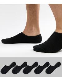 Calcetines invisibles negros de Jack & Jones
