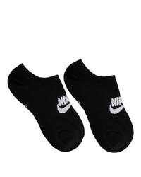 Calcetines invisibles negros de Nike