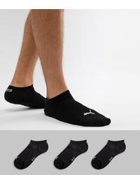 Calcetines invisibles negros de Puma