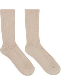 Calcetines marrón claro de Etoile Isabel Marant