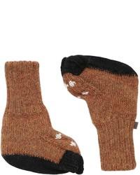 Calcetines marrónes