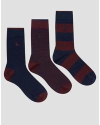 Calcetines morado oscuro de Jack Wills