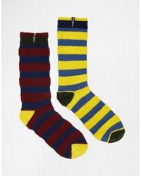 Calcetines morado oscuro de Pepe Jeans