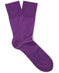 Calcetines morado de Falke