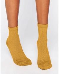 Calcetines mostaza de Asos