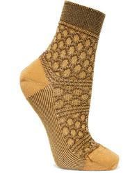 Calcetines mostaza de Missoni