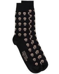 Calcetines negros de Alexander McQueen