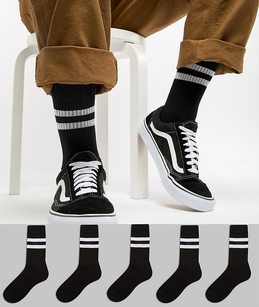 Calcetines negros de ASOS DESIGN