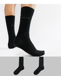 Calcetines negros de BOSS