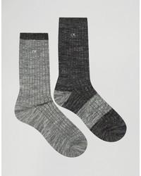 Calcetines negros de Calvin Klein Jeans