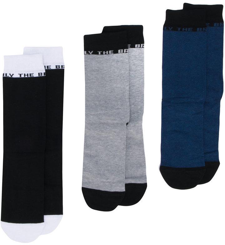 Calcetines negros de Diesel