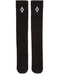 Calcetines negros de Marcelo Burlon County of Milan