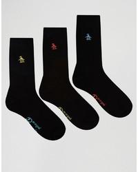 Calcetines negros de Original Penguin