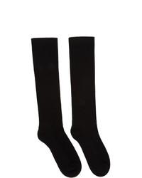 Calcetines negros de Rick Owens