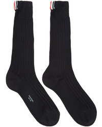Calcetines negros de Thom Browne