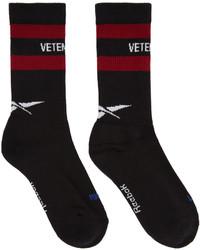 Calcetines negros de Vetements