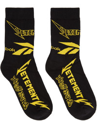 Calcetines negros de Vetements