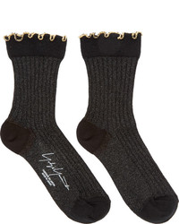 Calcetines negros de Yohji Yamamoto