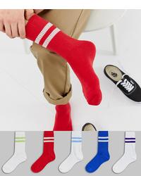 Calcetines rojos de ASOS DESIGN