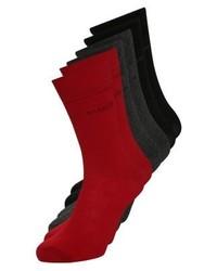 Calcetines rojos de Bugatti