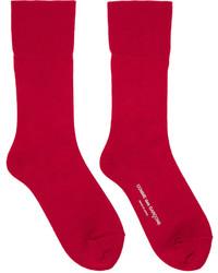Calcetines rojos de Comme des Garcons