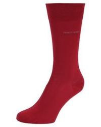 Calcetines rojos de Hugo Boss