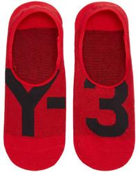 Calcetines rojos de Y-3
