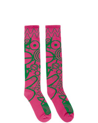 Calcetines rosa de Charles Jeffrey Loverboy