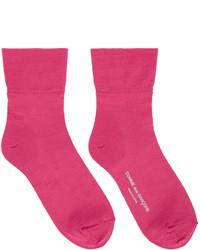 Calcetines rosa de Comme des Garcons
