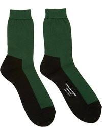 Calcetines verdes de Comme des Garcons