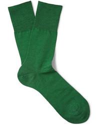 Calcetines verdes de Falke