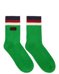 Calcetines verdes de Gucci