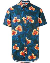 Camisa azul marino de adidas