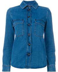 Camisa azul de Chloé