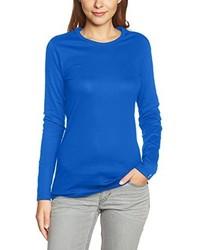 Camisa azul de Trigema