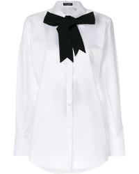 Camisa blanca de Dolce & Gabbana