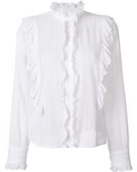 Camisa blanca de Etoile Isabel Marant