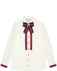 Camisa blanca de Gucci