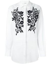 Camisa bordada blanca de P.A.R.O.S.H.