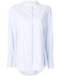 Camisa bordada celeste de 3.1 Phillip Lim