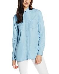 Camisa celeste de Calvin Klein