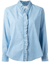 Camisa celeste de Etoile Isabel Marant